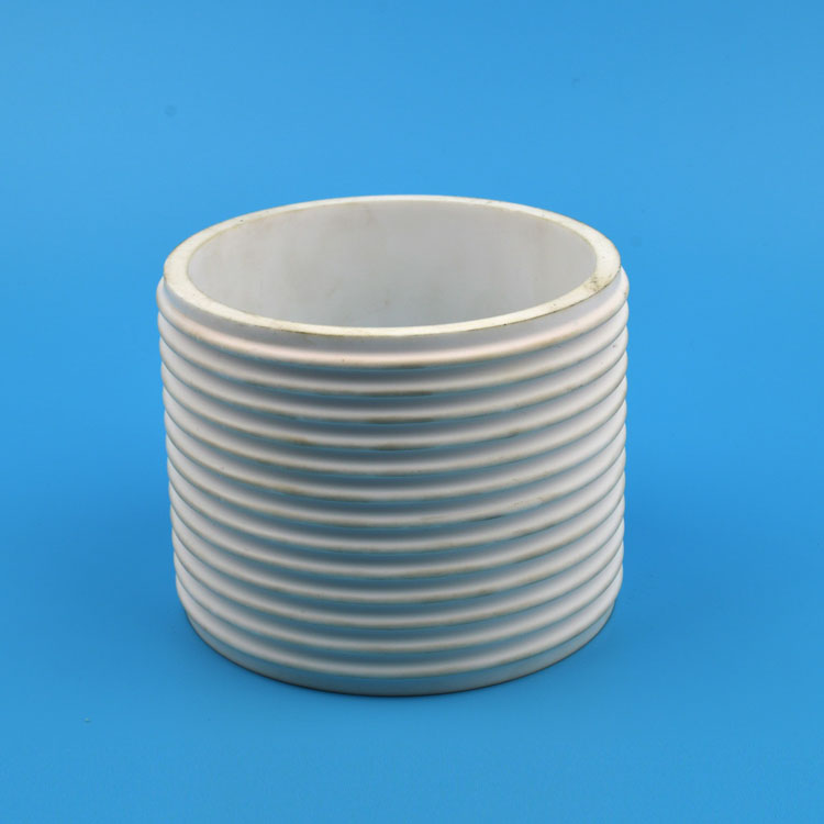 Alumina Threaded Tube