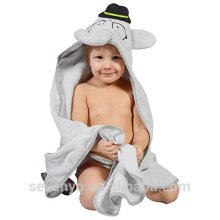 100% bamboo Hooded towel elephant baby towel perfect for bath shower gift super fluffy premium bath towel