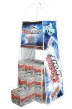 Custom Advertising Cardboard Trade Show Fabric Displays-pallet Wrap