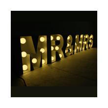 Giant Light Up Letter LOVE LED Letters Light Manufacturer Custom Wedding Decoration LED Marquee Illuminated Letter
