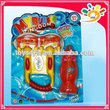 Fun plastic bubble gun toy, electric bubble gun toy