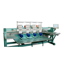 4 cabezales de la máquina del bordado del casquillo de 9 colores