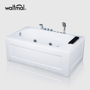 Acrylic Rectangle SPA Whirlpool Bathtub