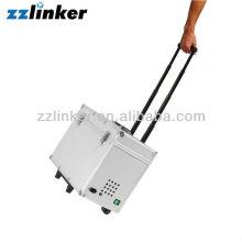 CE Tipo de bagagem FDA Malha Compressor de ar embutido com rodas Unidade dental portátil
