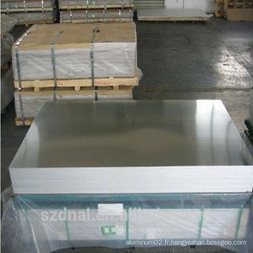 Bonne lampe de qualité de surface 5052 feuille d'aluminium H32 Chine fabricant