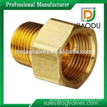china manufacturer competitive price best sale forged 58-3 brass male threaded flare adapter fitting