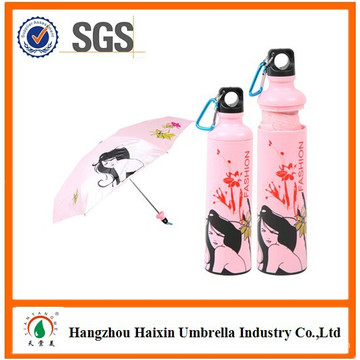 Rain Protection Outdoor Promotional Items Fancy Lady Full Printing Umbrella