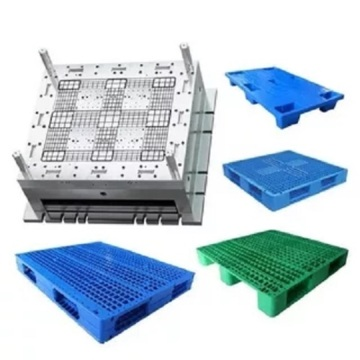 Grid Nine Feet Single Board Plastic Pallets Moldes