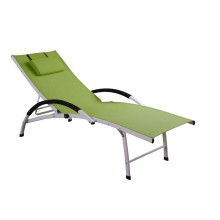 OEM/ODM Manufacturer for Outdoor Sun Loungers luxury adjustable textilene lounge supply to Mauritius Suppliers