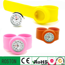 Customised Design Silicone Slap Watches