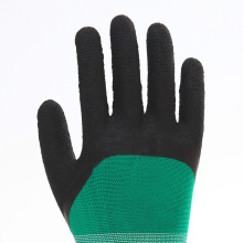 Cotton Latex Coated Working Safety Gloves