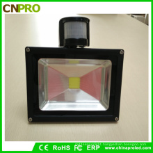 Ce RoHS Approved 10W PIR Sensor LED Floodlight