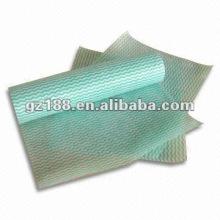 Küchenwischtuch-Tücher, Spunlace-Vliesstoff, Hauptverbrauchsmaterial