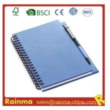 Caderno de papel de fornecimento de escritório para papelaria