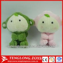 2014 новый дизайн двух цветов милый плюшевых животных игрушки для ребенка