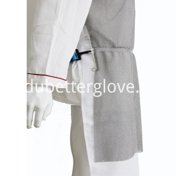 ring mesh cutting resistgant apron