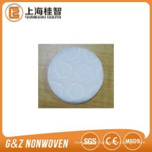 tissu non-tissé gaufré coton cosmétique pad de haute qualité