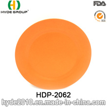 Organic BPA Free Bamboo Fiber Plate (HDP-2062)