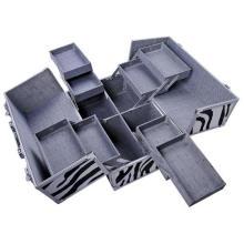 OEM Factory! Étui cosmétique en aluminium
