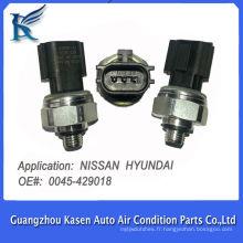 3 broches R134a capteur de pression de l'air conditionné pression du capteur de capteur et pressostato pour Nissan Hyundai OE # 0045-429018