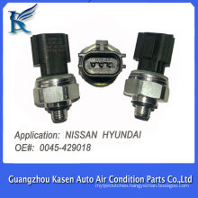 3 pins R134a air conditioning pressure switch transducer sensor thrust and pressostato for Nissan Hyundai OE#0045-429018