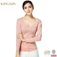 Women Spring Sweater Crop Top, Latest Design Ladies Women Knit Sweater Wholesale