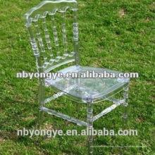 Chaise à napoléon en résine résistante à la conception nouvelle conception