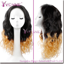 New Arrival Ombre Peruvian Human Hair Hand Made Wig