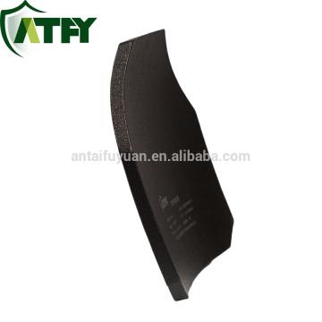 """Chaleco antibalas Hard Armor Placas e inserciones Armadura corporal compuesta - 10 """"x12"""" placa de cerámica de alúmina"""