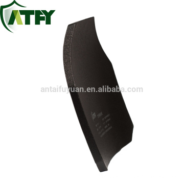 "Hard Armor bulletproof vest Plates and Inserts Composite Body Armor - 10""x12"" alumina ceramic plate"