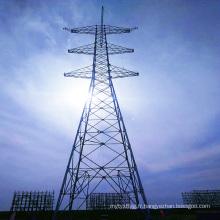 1000kv Double Circuit Transmission linéaire Transmission d'acier