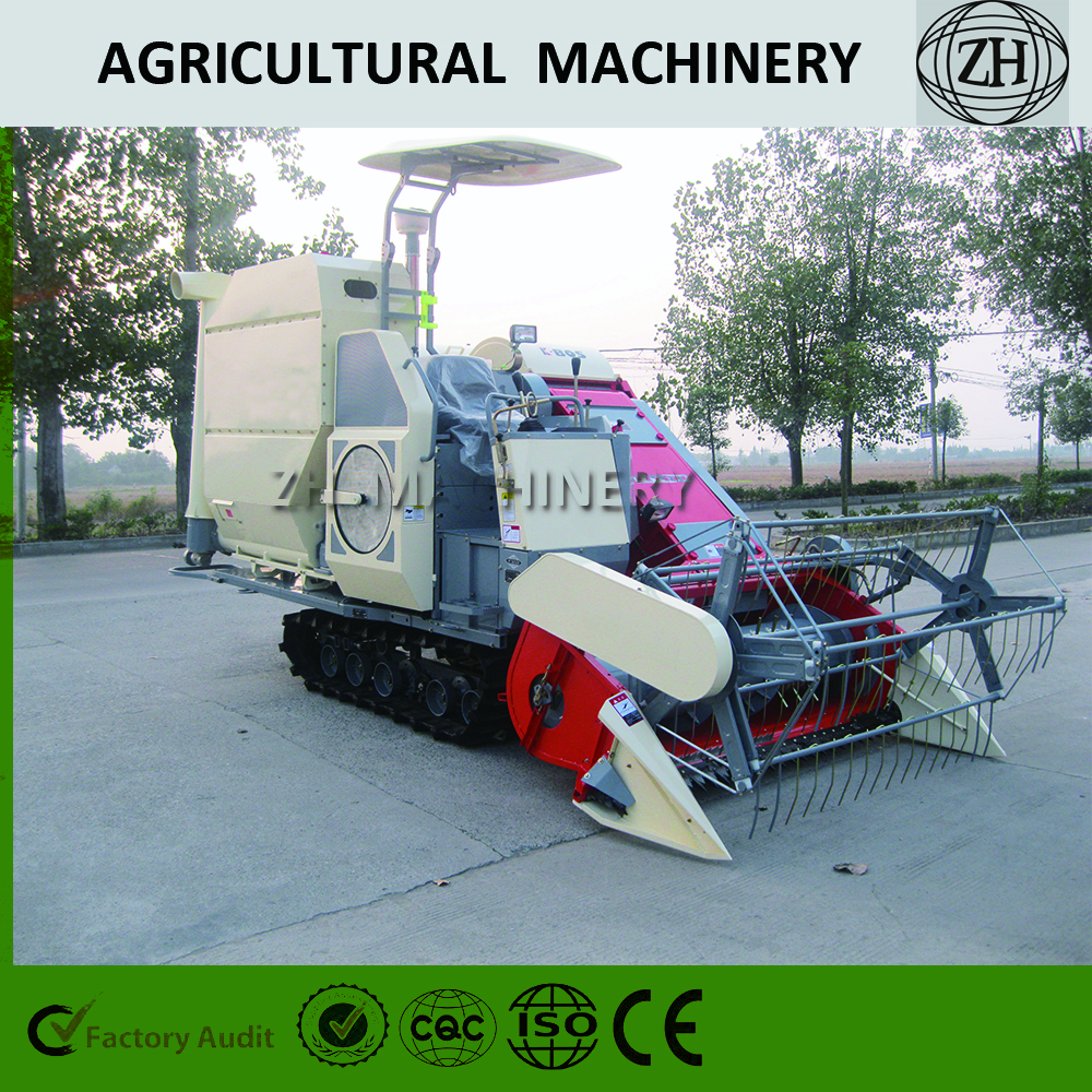 Rice/Wheat/Grain Harvesting Machine
