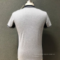 Men's cotton slim printed T-shirt