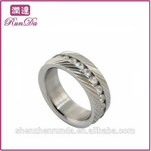 Chine usine 316 anneau en acier inoxydable pour femmes