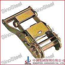 "1-1/2""-38mm Wide Handle Ratchet Strap Belt Buckle"