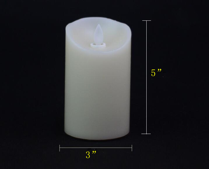 paraffin wax led candle 6
