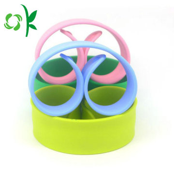Candy Color Simple Silicone Slap Armband voor cadeau