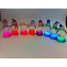 35CM LED Bubble Ball Body Snowman Series
