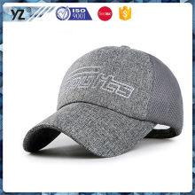 Fábrica de venda directa novela design plana chapéu camionista à venda