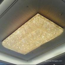 Guzhen plexiglass Style large luxury big hotel chandelier lighting crystal light fixture