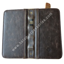 iphone5 retro leather bookbook