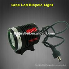 Jexree 1800 Lumen 6400mah 3xCREE XM-L2 levou bicicleta levou luzes de raios