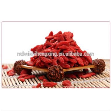 Ningxia Power Frucht Superior natürliche Gesundheit Nahrung Ningxia Getrocknete Goji Beere 280 Körner / 50g Lycium Obst Getrocknete chinesische Wolfberry