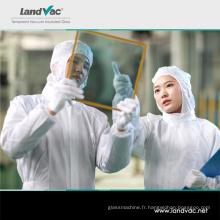 Verre feuilleté de vide de sécurité utilisé par Landvac Multi pour la porte en verre de décoration