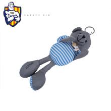 New design custom stuffed plush toy reflective keychain horse