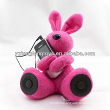 Диктор нового кролика диктора плюша новизны для MP3 & компьютера PSP
