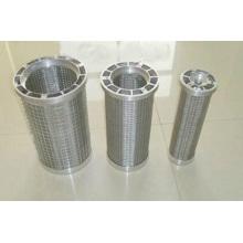 Filtro de barril de malla de acero inoxidable SUS304