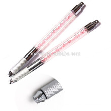 Crystal Mist Manual Sobrancelha Tattoo Pen / mais recente Microblading Hand Tools Pen