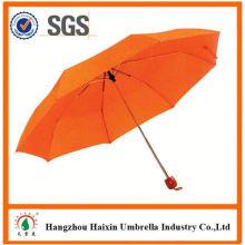 Günstigen Preisen!! Fabrik Lieferung 55cm 8k Regenschirm mit krummen behandeln