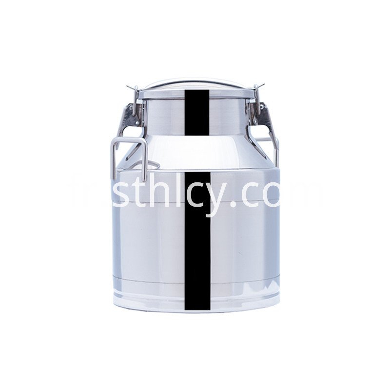 Stainless steel bucket lid